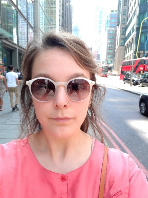 Ik doe normaal geen selfies, maarja hallo, dit ben ik dus.